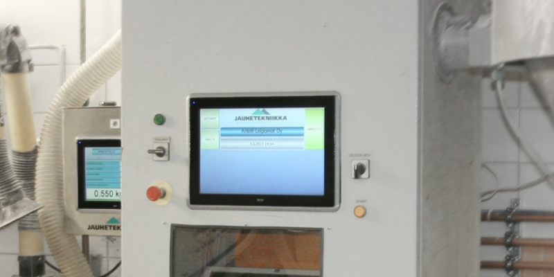 Modernisation of Dosetec dosing system's PLC control and operator screens. Antell Bakery