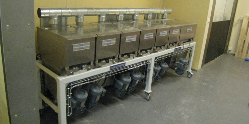 Small component unit that fits in a smaller bakery