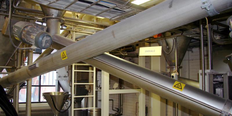 Conveyor screw Nestle 2