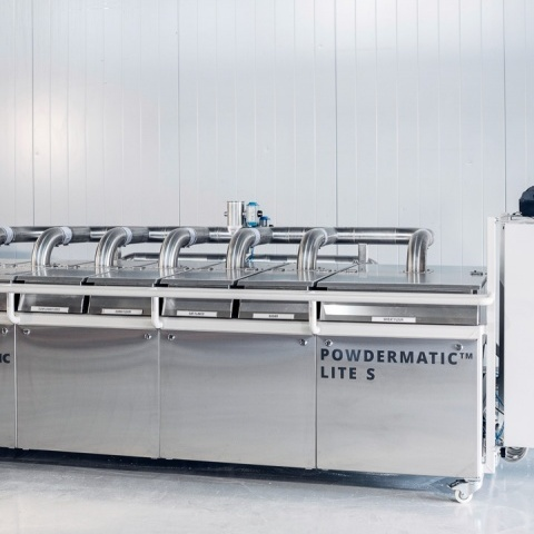 Powdermatic Lite S automatic dosing of small ingredients