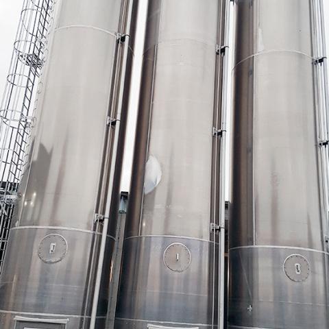 Powder Technic silos for flour